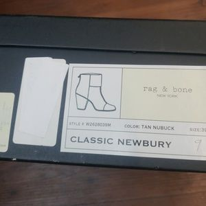 Rag and bone Classic Newbury boots